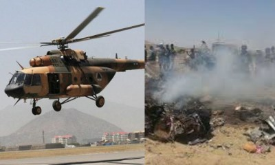 Helicopter crash in Afghanistan kills three