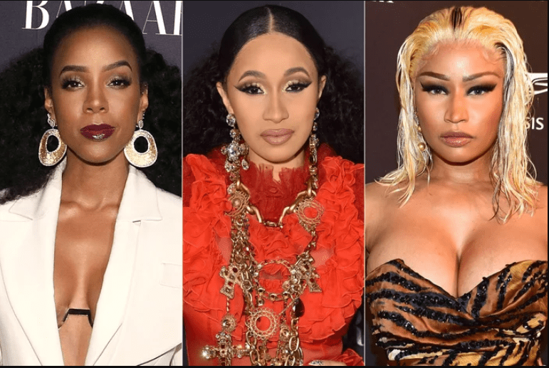 Kelly Rowland weighs in on Cardi B and Nicki Minaj's dramatic brawl at Fashion Week Party (Video)
