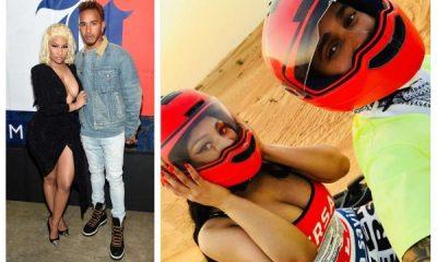 Nicki Minaj and Lewis Hamilton go public with romance in Dubai