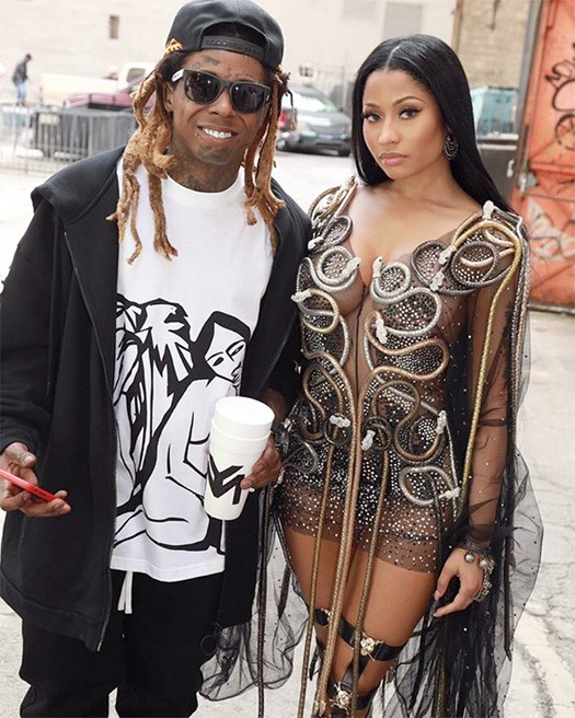 Rapper, Lil Wayne declares Nicki Minaj the 'Queen of Hip-Hop'