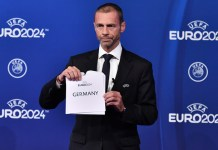UEFA names Germany as Euro 2024 host