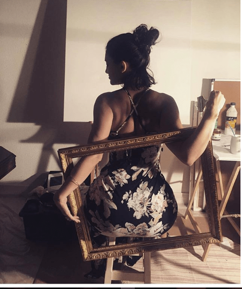 Drake's babymama, Sophie Brussaux flaunts her ass in new photos
