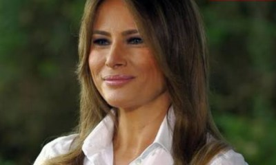 Melania Trump finally speaks on her husband's alleged infidelity (video)