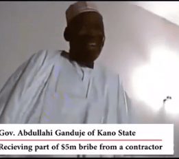 purported video of Kano state governor allegedly receiving bribe surfaces online