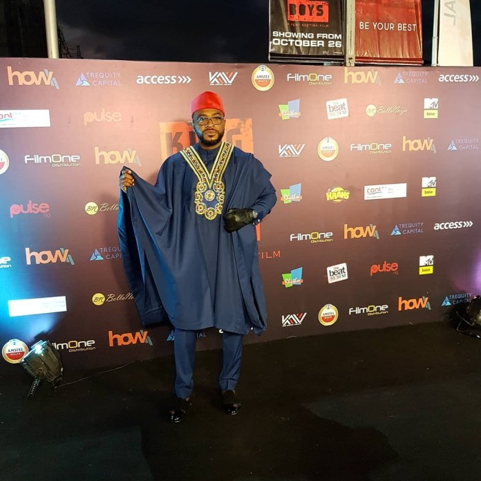 Celebs who turned up for the premiere of Kemi Adetiba's new movie (Photos)