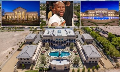 Floyd Mayweather's new $10million mansion in Las Vegas desert