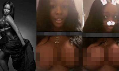 Azealia Banks breasts implant