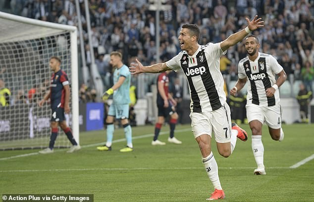 Cristiano Ronaldo becomes first player to hit 400 goals in Europe after netting against Genoa