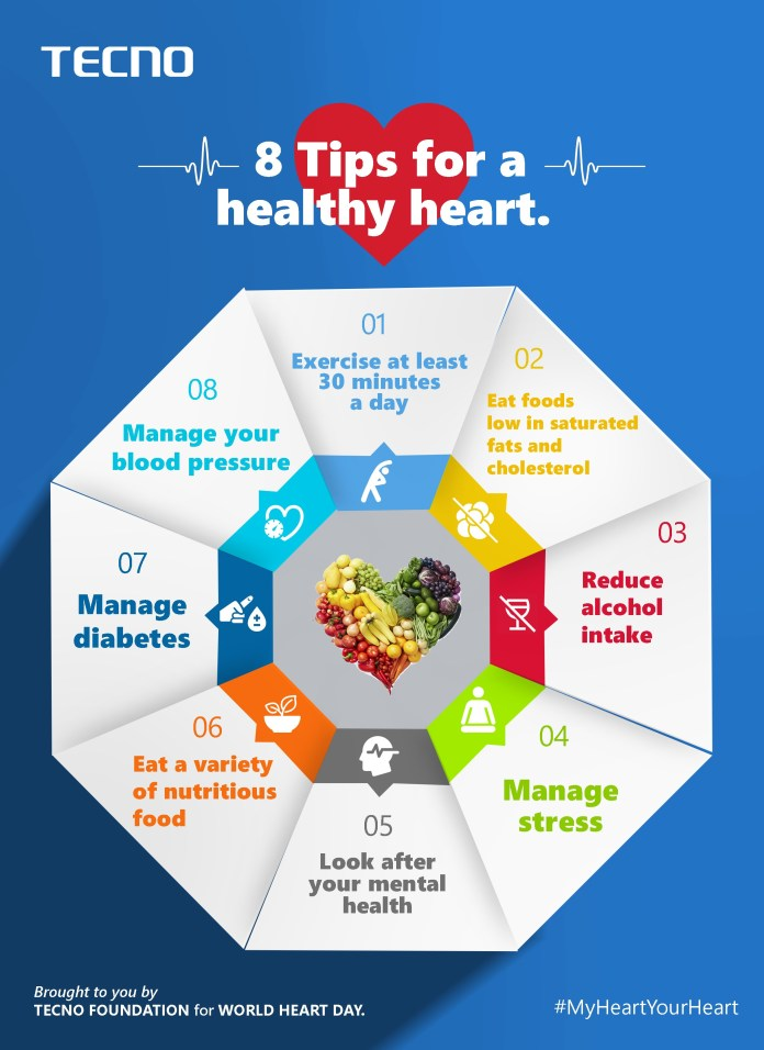 Eight life changing tips on how to take care of your heart right now