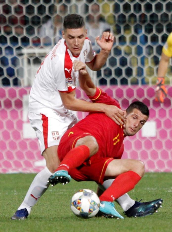Manchester United boss Jose Mourinho watches Serbia beat Montenegro in Sergej Milinkovic-Savic scouting mission