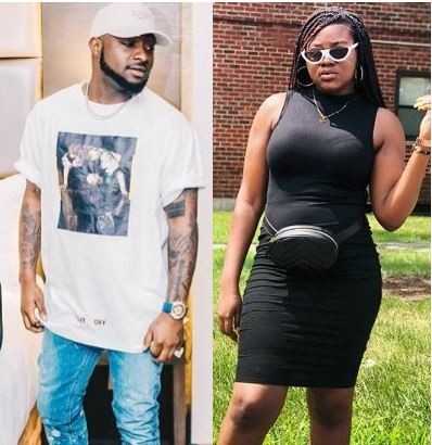 Teenage girl attacks Davido after he called her 'ugly, fat and broke' (Screenshots)