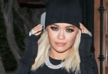 Rita Ora flaunts her breasts in see-through dress (photos)