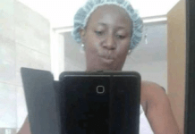Zambian government worker's nude photo which she sent to her lover leaks online
