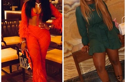 Photos: Cee C shows sexy curves in Dubai