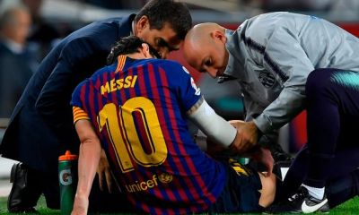 Barcelona gives latest update on Messi's injury