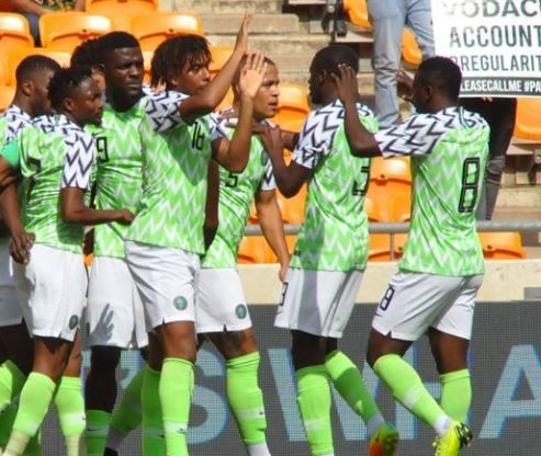 Nigeria qualify for 2019 AFCON after a 1 - 1 draw with South Africa