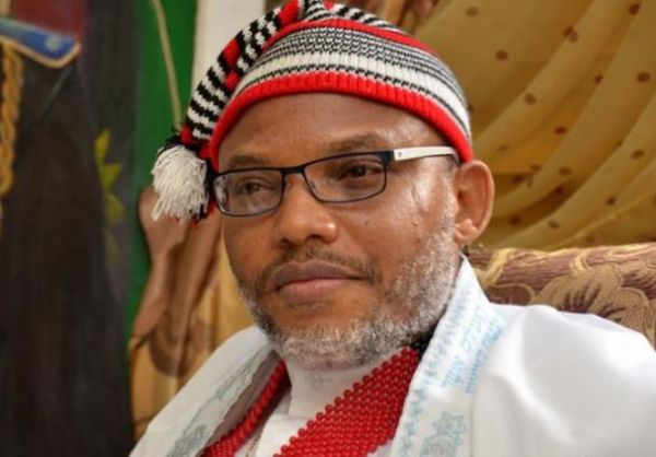 Biafra: Nnamdi Kanu reveals how Aisha Buhari admitted her husband is dead