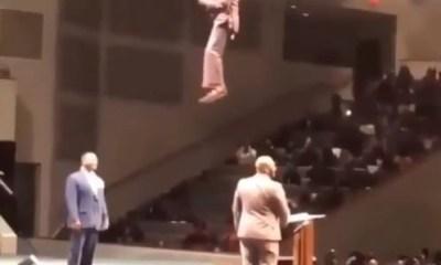 Flying pastor