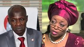 Diezani is being protected by forces abroad, says Magu