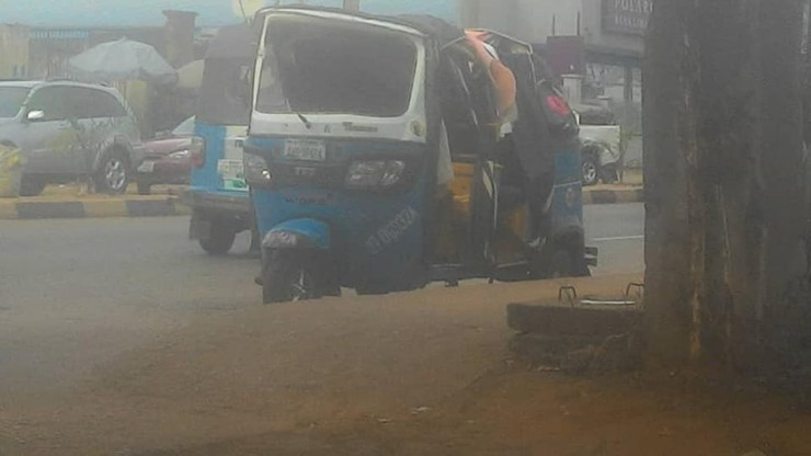 Police involved in accident while chasing a vehicle suspected to be owned by a Yahoo boy