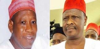 Ganduje and Kwankwaso fight