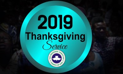 RCCG January 2019 Thanksgiving Service Live Broadcast