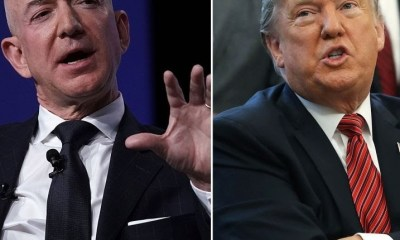 Trump mocks Jeff Bezos over his affair with Lauren Sanchez