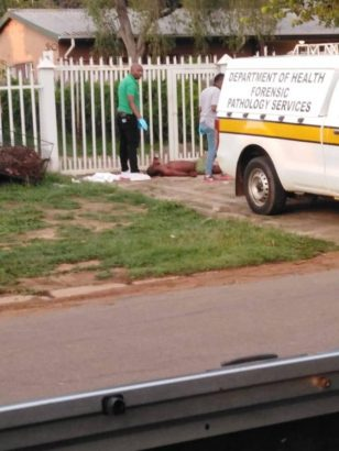 Man stabs rival to death at his ex-girlfriend's house (graphic photos)