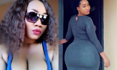 Actress Esther Christopher shows off butt, says she's not jealous of anyone