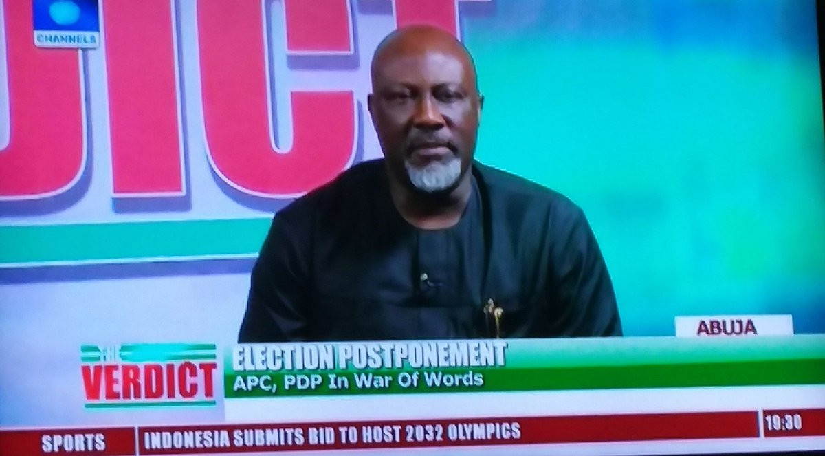 Buhari's statement on ballot box snatchers confirms he needs to visit London again - Dino Melaye (video)