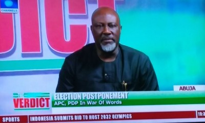 Buhari's statement on ballot box snatchers confirms he needs to visit London again'' Dino Melaye (video)