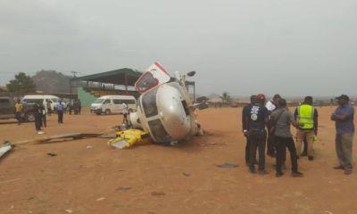 Video of Osinbajo's helicopter crash