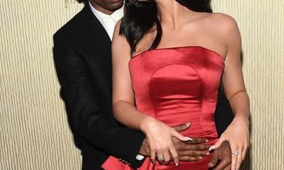 Kylie Jenner & Travis Scott pack on the PDA at Clive Davis pre-Grammy's bash (Photos)