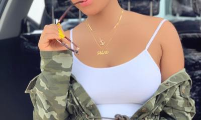 Regina Daniels shows off her new whip, a Mercedes-Benz ML350
