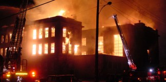 Fire engulfs INEC office