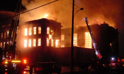 Fire engulfs INEC office