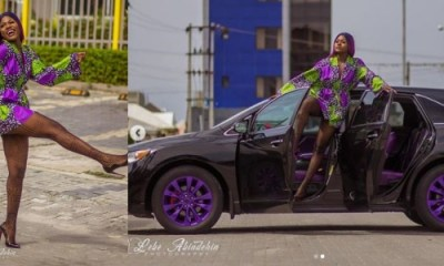 photos of Alex after Cee-c exposed that she slept with Tobi
