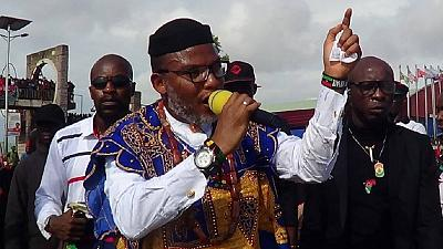 Nnamdi Kanu breaks silence on the relocation of herdsmen from the south