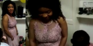 Lady rejects man who proposed to her at her birthday party