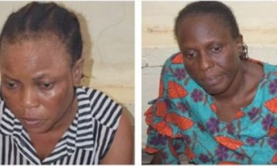 Two nurses Arrested For Allegedly Selling Baby For N350,000