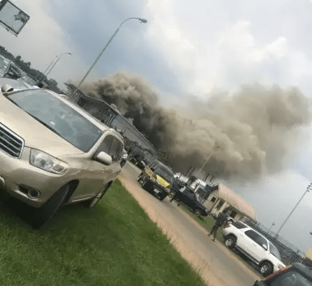 Passengers flee as fire guts arrival section of Imo airport