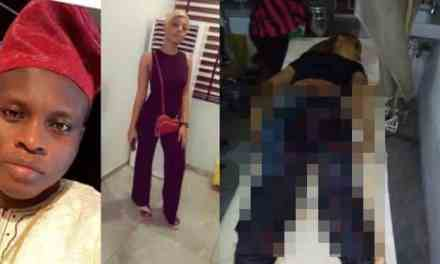SARS officers allegedly kill lady, leave her boyfriend unconscious in Lagos (Graphic)