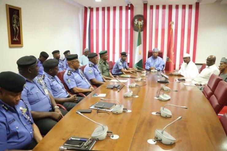 Saraki meets IGP Adamu over Police Reform Bill