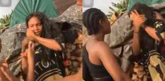 Lady disgraces slay queen for dating her father In Benin