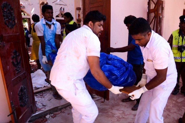 Sri Lanka Easter Bomb blasts