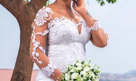 BBNaija's TBoss stirs pregnancy rumors after releasing wedding-themed photos