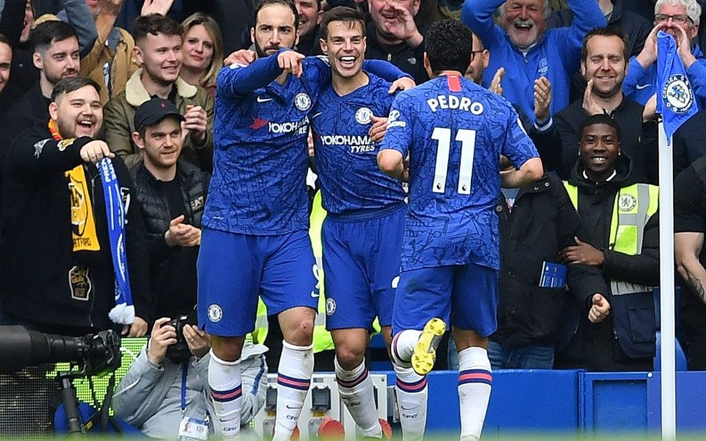 Chelsea up to third after 3-0 win over Watford