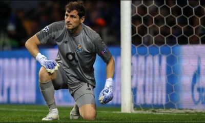 Iker Casillas suffers heart attack during Porto training