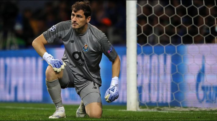 Iker Casillas suffers heart attack during Porto training