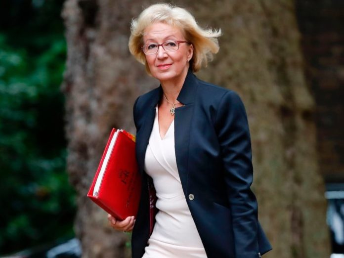 UK House of Commons leader Leadsom resigns